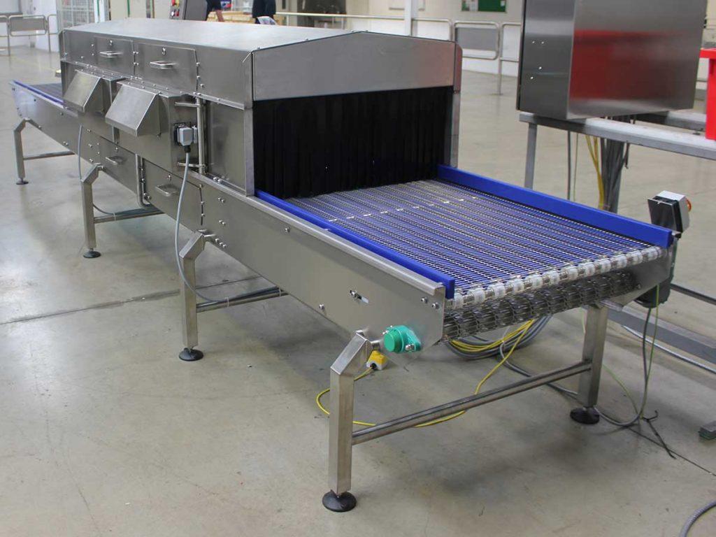 UV-C Low Risk / High Risk solution for bulk ingredients